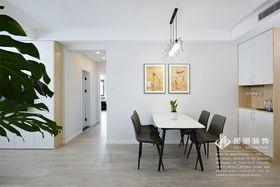 120平米三室兩廳北歐風格餐廳圖