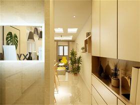 80平米现代简约风格玄关设计图