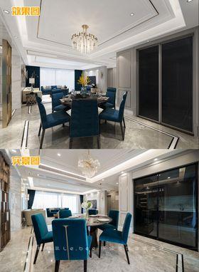 豪华型140平米四室两厅其他风格餐厅设计图