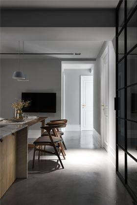 100平米三室一廳現代簡約風格餐廳圖