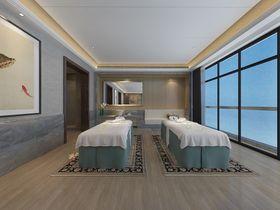 140平米别墅中式风格卫生间装修效果图
