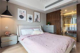 90平米公寓现代简约风格卧室图片