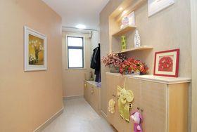 5-10万130平米三室两厅现代简约风格走廊图