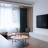 50平米小户型现代简约风格客厅装修效果图