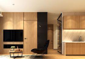 120平米三室两厅日式风格影音室装修效果图