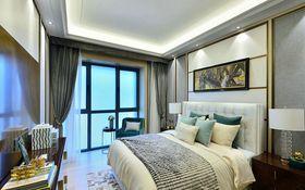 富裕型140平米三室两厅现代简约风格卧室图片大全
