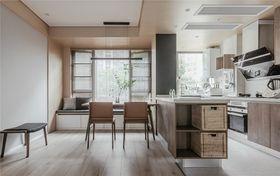 140平米三室一廳現代簡約風格餐廳裝修效果圖