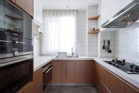 100平米三室两厅日式风格厨房装修效果图