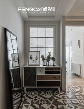 130平米三室两厅北欧风格玄关图