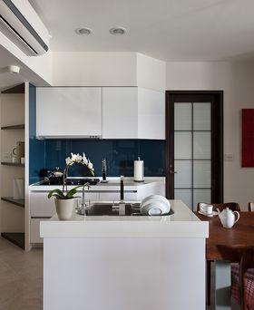 富裕型130平米三现代简约风格厨房图片大全