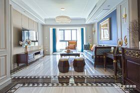 140平米四室两厅美式风格客厅图片大全