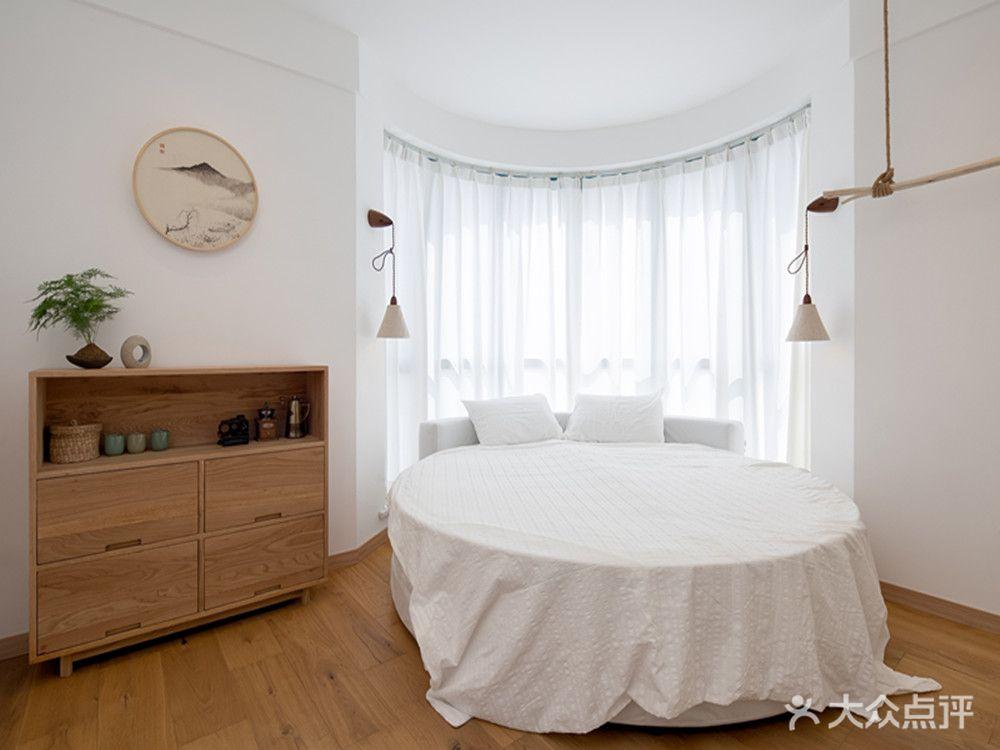 90平米三日式风格卧室图片