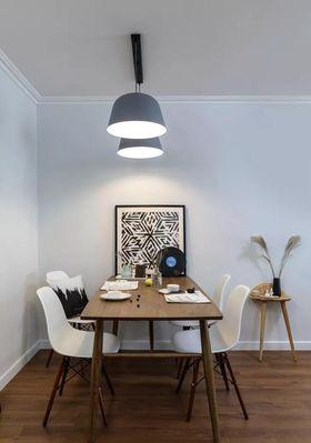 100平米三室一厅北欧风格餐厅装修案例