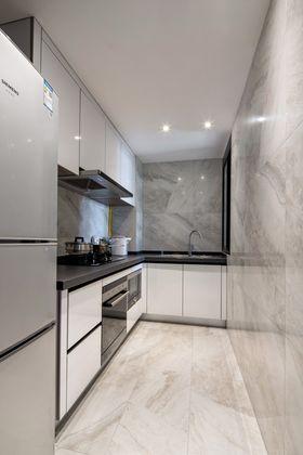 豪华型80平米现代简约风格厨房欣赏图