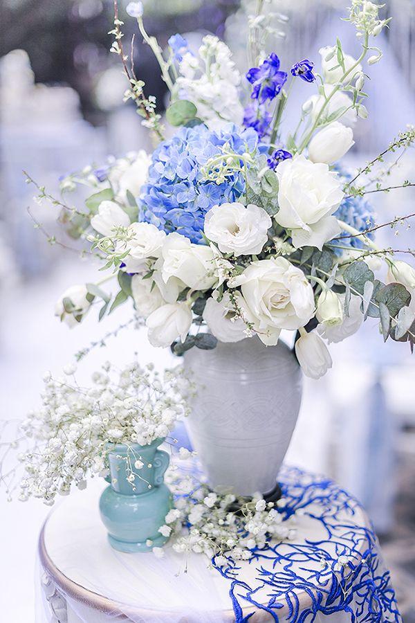 与众不同的青花瓷主题婚礼