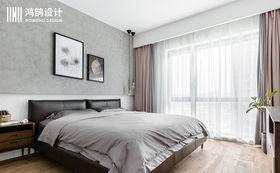 120平米现代简约风格卧室欣赏图
