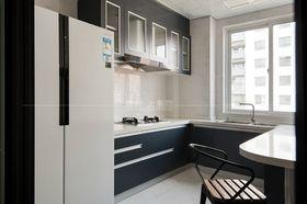 100平米三室一廳現代簡約風格廚房裝修效果圖