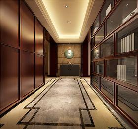 110平米三室两厅中式风格走廊装修效果图