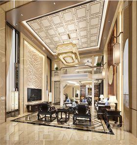 140平米別墅中式風格客廳圖