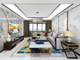 20万以上120平米三混搭风格客厅图片