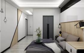 120平米三现代简约风格卧室欣赏图