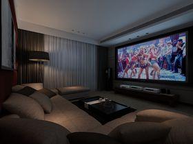 140平米四室两厅现代简约风格影音室设计图