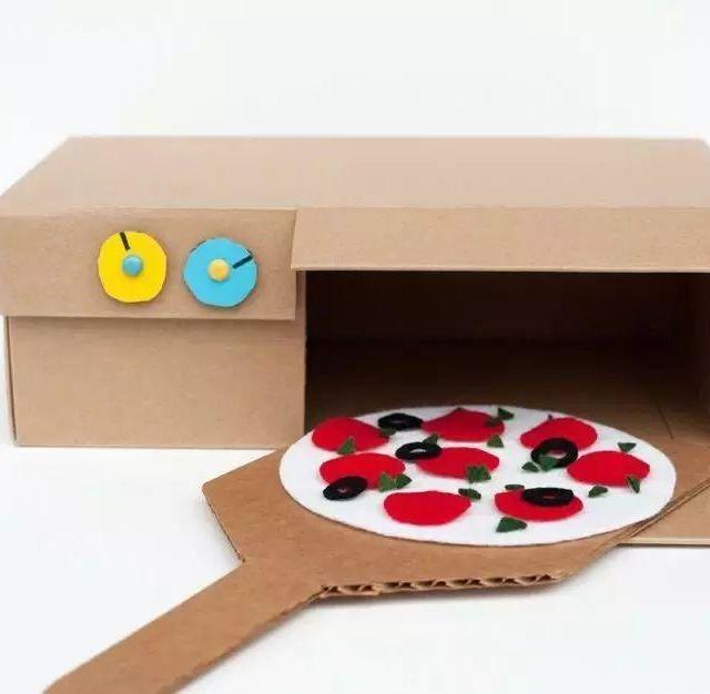 立体式鞋盒手工制作
