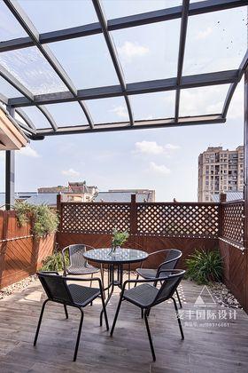 140平米复式美式风格阳台图