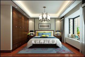 5-10万90平米中式风格卧室装修图片大全