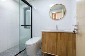 130平米三室两厅日式风格卫生间效果图
