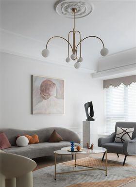 100平米法式风格客厅欣赏图