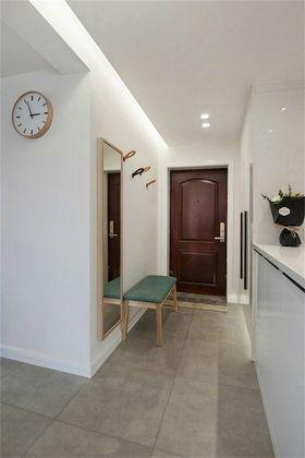 130平米三室一厅宜家风格玄关设计图
