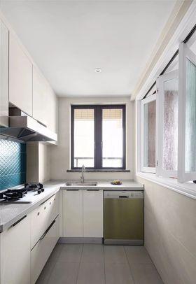 120平米三室一厅混搭风格厨房设计图