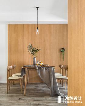110平米现代简约风格餐厅图片