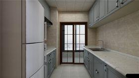 90平米三室两厅现代简约风格厨房装修案例