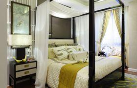 经济型90平米东南亚风格卧室装修效果图