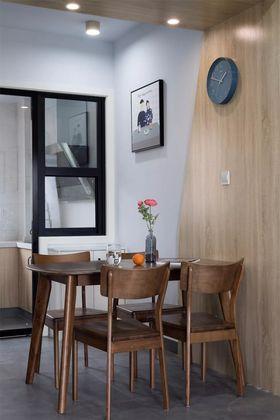 90平米三室一廳現代簡約風格餐廳欣賞圖