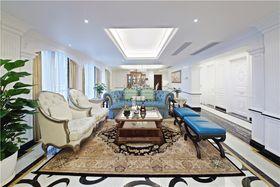 豪华型140平米复式法式风格客厅图片