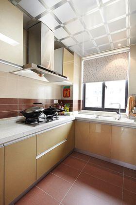 3-5万90平米三室两厅现代简约风格厨房欣赏图