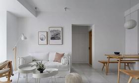 80平米北欧风格客厅装修效果图