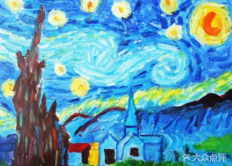 2016幼儿园教室丙烯画最新图片