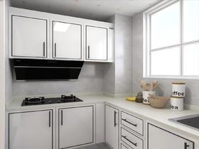 100平米三室一厅现代简约风格厨房装修效果图
