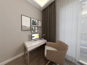 140平米別墅中式風格臥室設計圖