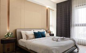 110平米三室兩廳現代簡約風格臥室裝修效果圖