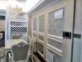 5-10万110平米三室两厅北欧风格餐厅图片