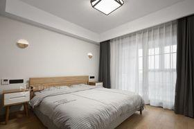 120平米三室兩廳日式風格臥室裝修案例