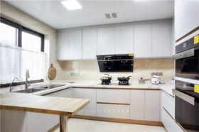 140平米三室两厅现代简约风格厨房装修图片大全