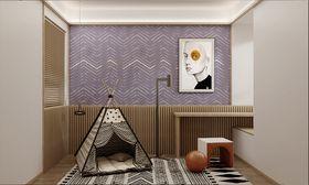 110平米三室一厅日式风格儿童房装修案例
