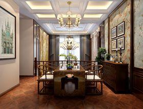 140平米別墅美式風格餐廳效果圖