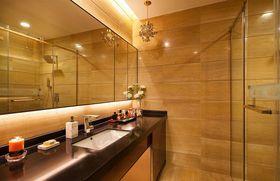 50平米一居室现代简约风格卫生间设计图